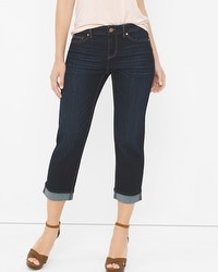 Curvy Straight Crop Jeans