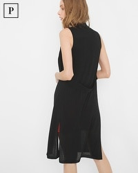 Petite Sleeveless Lightweight Duster