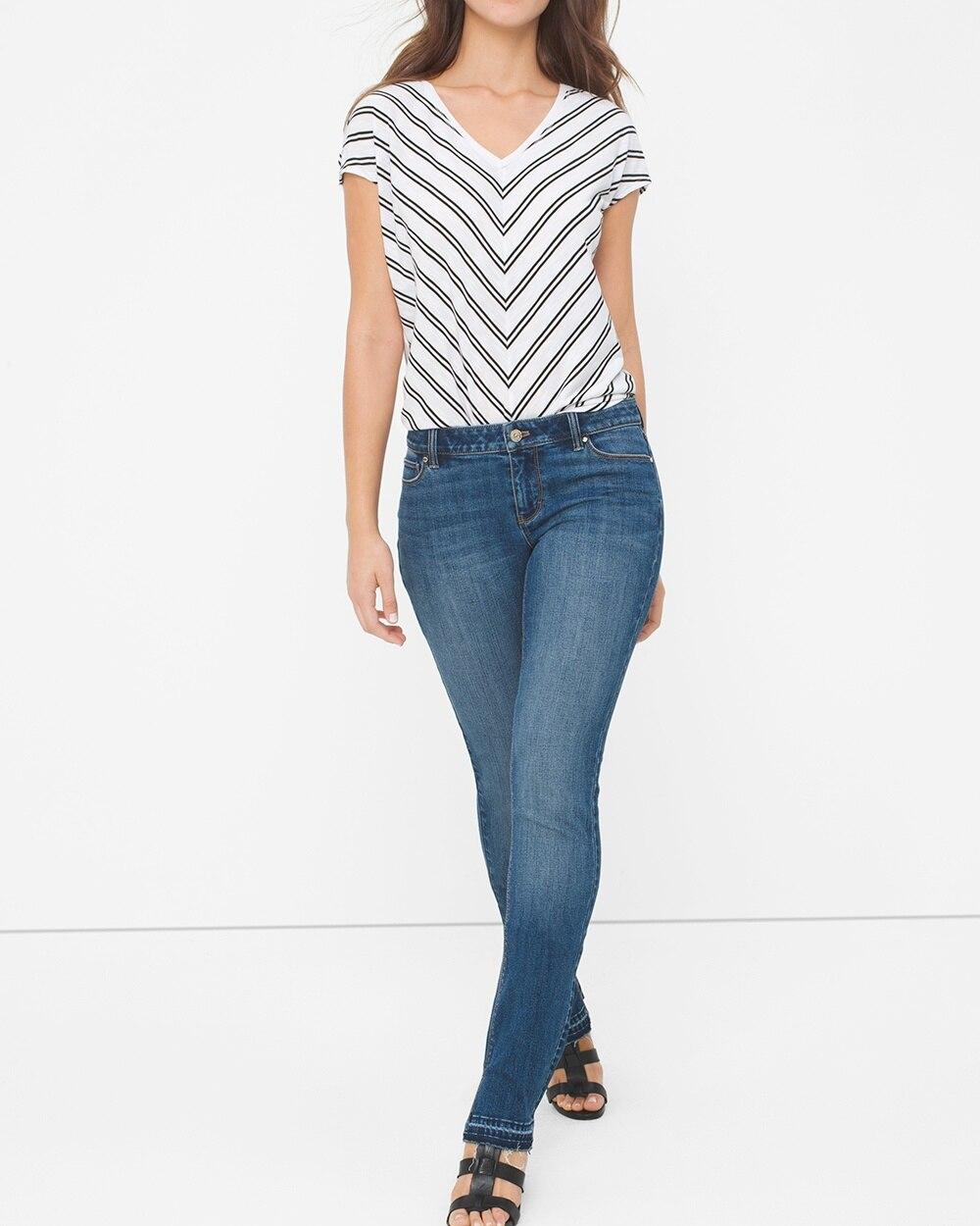 Release Hem Slim Jeans