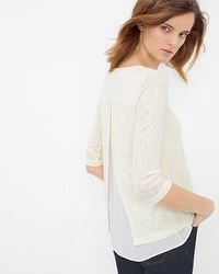 Split-Back Layered Tee