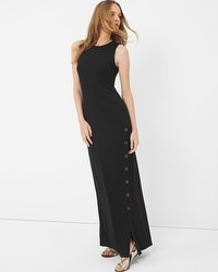 Button Maxi Dress