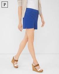 Petite Coastal Stretch Shorts