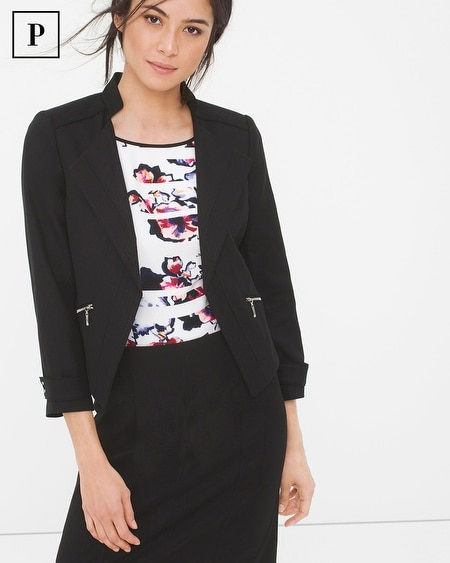 Petite Summerweight Cropped Jacket