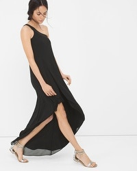 One-Shoulder Asymmetric Dress