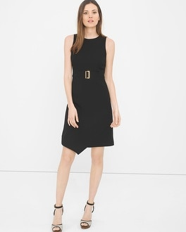 A-Line Asymmetric Wrap Dress