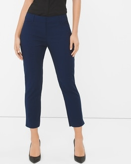 Curvy Straight Crop Pants