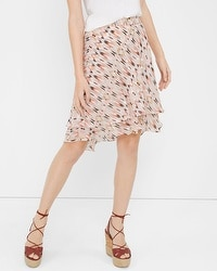 Printed Flirty Skirt