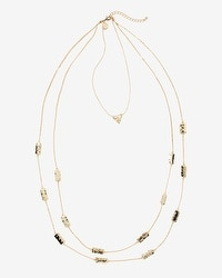 Convertible Hammered Multi-Row Necklace