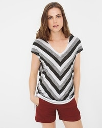 Side-Drawstring Dolman Top
