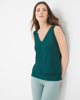 Rib Mix Tunic Top