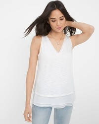 Textured Layered Tank