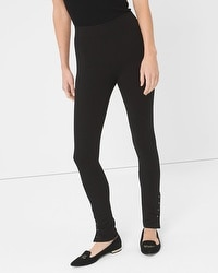 Stud-Detail Leggings