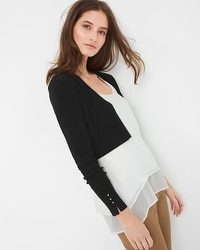 Crop Shrug Sweater