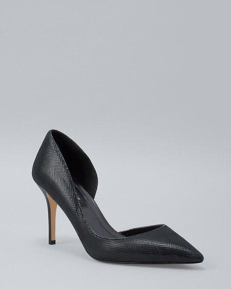 84b9ad953ce Phoebe Suede Kitten Heels - White House Black Market