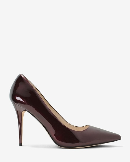 Olivia Patent Leather Pumps