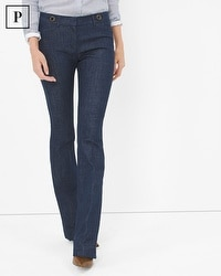 Petite Trouser Flare Jeans