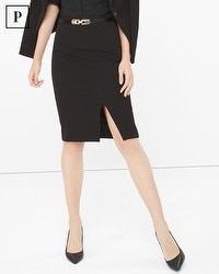 Petite Seasonless Pencil Skirt