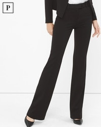 Petite Seasonless Slim Flare Pants