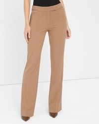 Curvy Seasonless Slim Flare Pants
