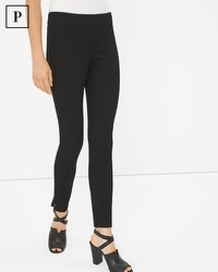 Petite Bi-Stretch Woven Leggings