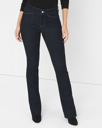 Curvy Skinny Flare Jeans