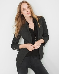 Herringbone Ponte Jacket