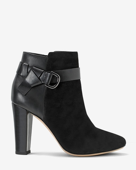 Chunky Heel Ankle Boots - WHBM