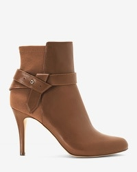 Leather 50/50 Stretch Ankle Boots