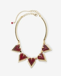 Triangle Pave Collar Necklace