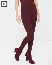 Petite Solution Ponte Leggings