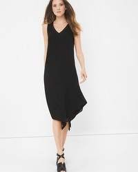 V-Neck Asymmetric Dress