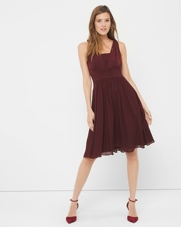 Genius Chiffon Convertible Dress