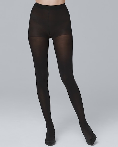844061b1d Black Opaque Tights - White House Black Market