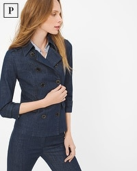 Petite Tailored Denim Jacket