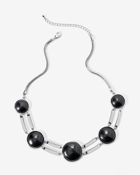 Black Onyx Collar Necklace
