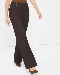 Curvy Wide-Leg Pants