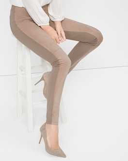 Suede Leggings