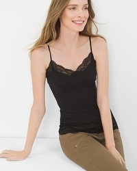 Jersey Lace Cami