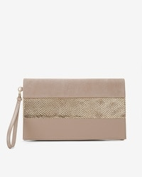 Pieced Clutch Bag
