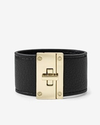 T-bar Leather Cuff