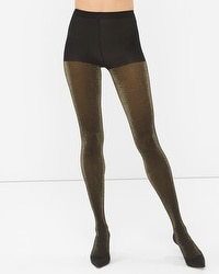 Gold Shimmer Opaque Tights