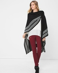 Black & White Cape