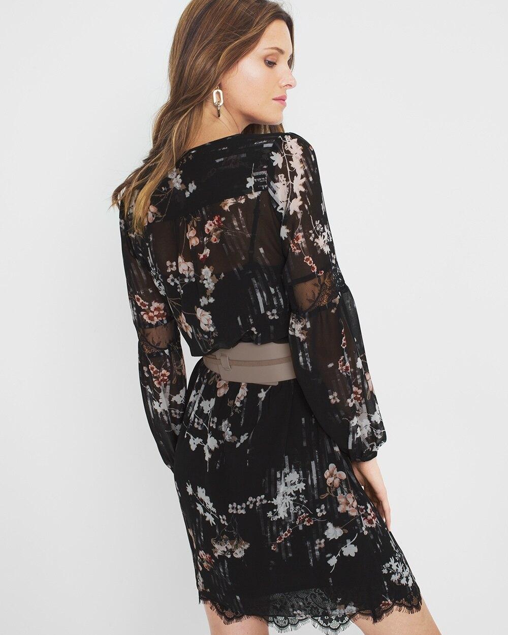 Short Sleeve Floral Maxi Dress
