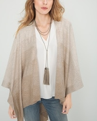 Leather-Tassel Long Necklace