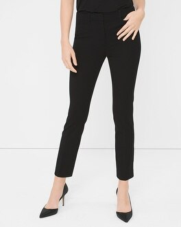 Premium Bi-Stretch Slim Crop Pants