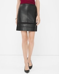 Mixed Texture Skirt