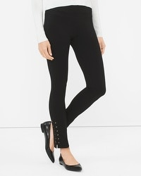Lace-Up Instantly Slimming Leggings