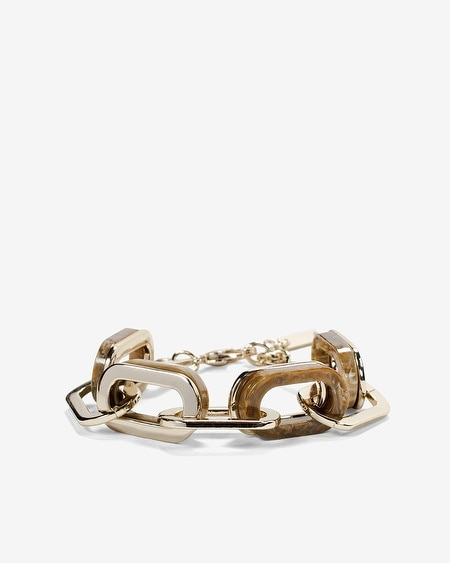 Mixed Chain-Link Bracelet