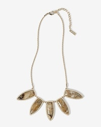Pave-Arrow Short Necklace