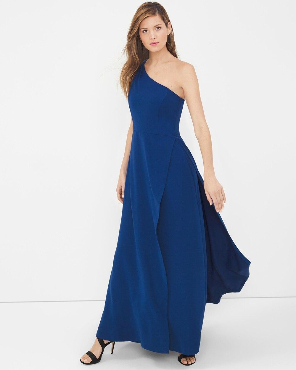 0cb78190e4f9 One-Shoulder Gown - White House Black Market